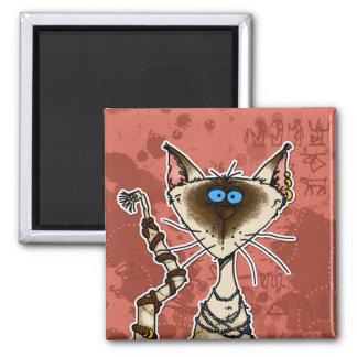 cat mummy magnet