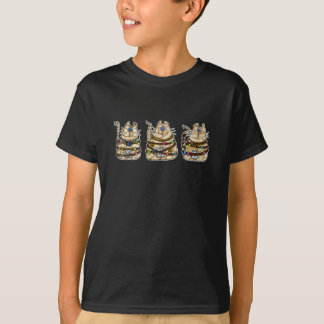 cat mummy trio T-Shirt