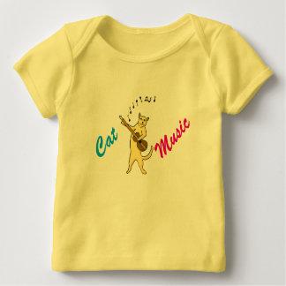 Cat Music Baby T-Shirt