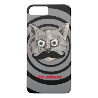 cat mustache personalized iPhone 7 plus case
