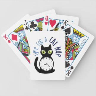 Cat Nap Bicycle Playing Cards
