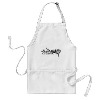 Cat nappin.......... standard apron