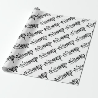 Cat nappin.......... wrapping paper