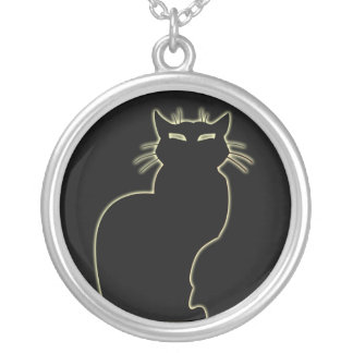 Cat Necklace Black Cat Gifts Cat Jewelry