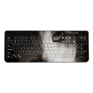 Cat noir wireless keyboard