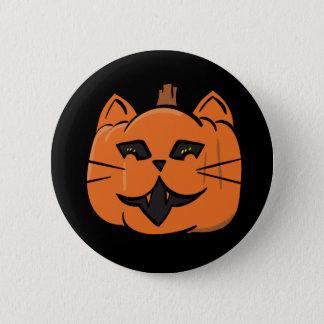 Cat-o-Lantern 2 Inch Round Button