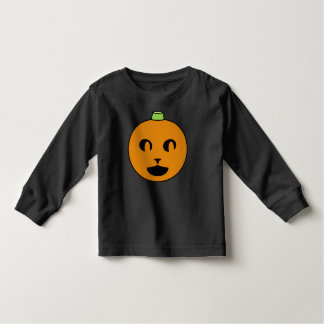 Cat-o-Lantern Long-Sleeve Toddler Shirt