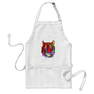 Cat of many colors standard apron