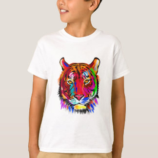 Cat of many colors T-Shirt