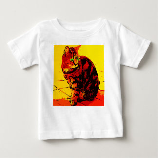 Cat Oil Painting Baby T-Shirt