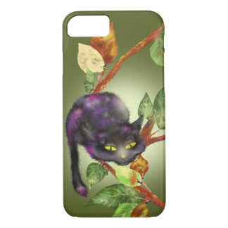 Cat on a branch iPhone 7 case