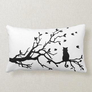 Cat on a Limb Pillow