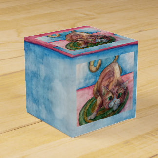 cat on a mat gift box