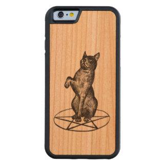 cat on pentagram iPhone 6 case