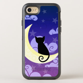 Cat on the moon OtterBox symmetry iPhone 7 case