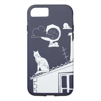 cat on the roof iPhone 7 case