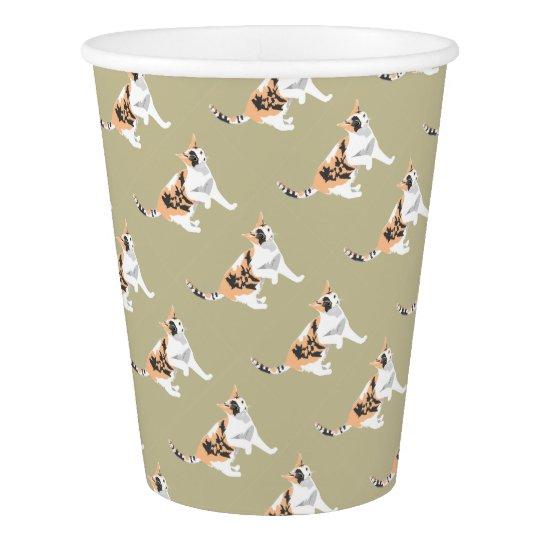 Cat Paper Cup