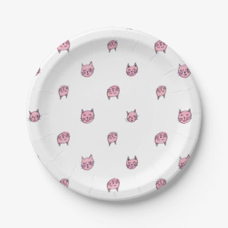 Cat Paper Plates