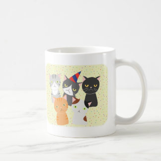 Cat Party Mug Funny Grumpy Cats Party Mug Cats