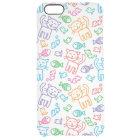 cat pattern clear iPhone 6 plus case