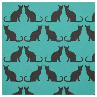 Cat Pattern Custom Color Fabric