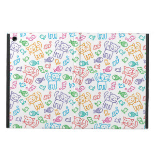 cat pattern iPad air covers
