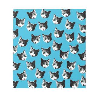 Cat pattern notepads