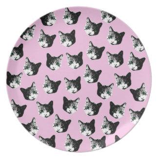 Cat pattern plates
