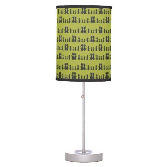 Cat Pattern Table Lamp