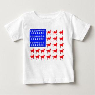 Cat + Paw Flag Baby T-Shirt