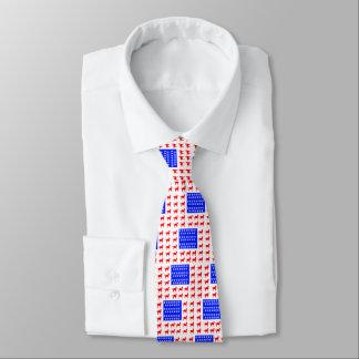 Cat + Paw Flag Tie