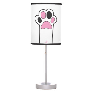 Cat paws table lamp