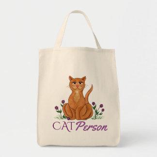 Cat Person - Happy Cat Tote Bag