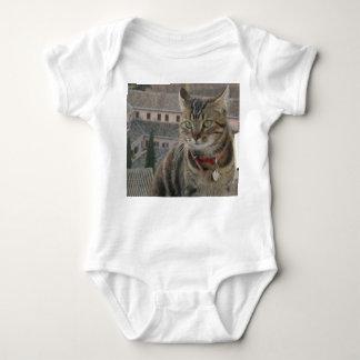 Cat Photography Baby Jersey Bodysuit, White Baby Bodysuit
