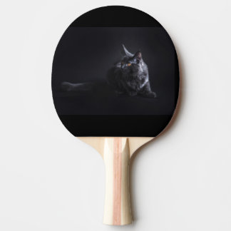 cat ping pong paddle