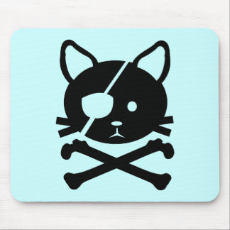 Cat Pirate Mousepad
