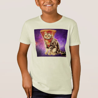 Cat pizza - cat space - cat memes T-Shirt