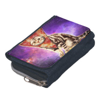 Cat pizza - cat space - cat memes wallets