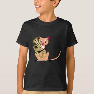Cat Playing the Euphonium T-Shirt