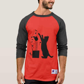 Cat Playing with Jack-in-the Box T-Shirt