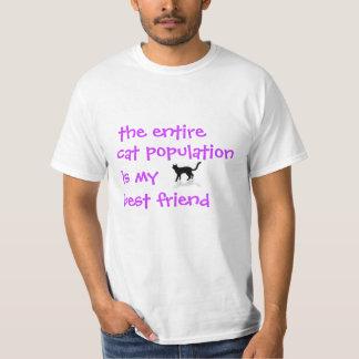 Cat Population T-Shirt