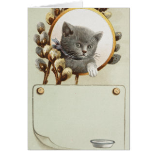 CAT PORTRAIT CARD