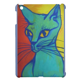 cat portrait i-pad mini case iPad mini cover