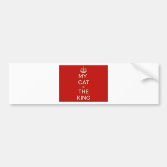 Cat Qoute Bumper Sticker