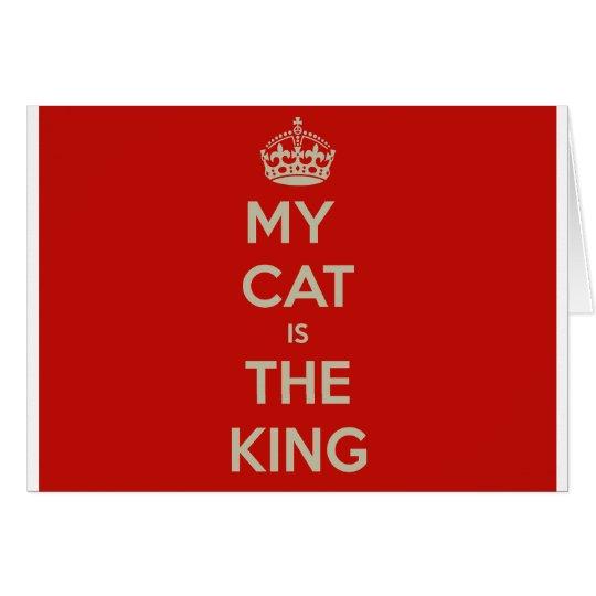 Cat Qoute Card