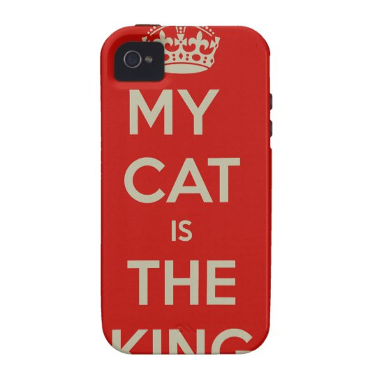 Cat Qoute Case-Mate iPhone 4 Case