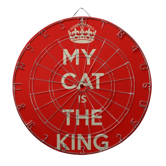 Cat Qoute Dartboard
