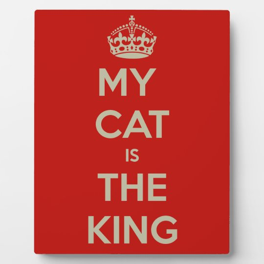 Cat Qoute Plaque