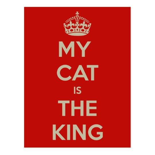 Cat Qoute Postcard