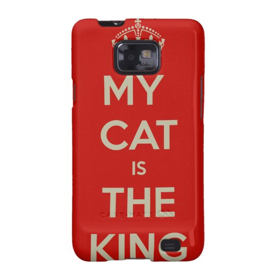 Cat Qoute Samsung Galaxy S2 Cover